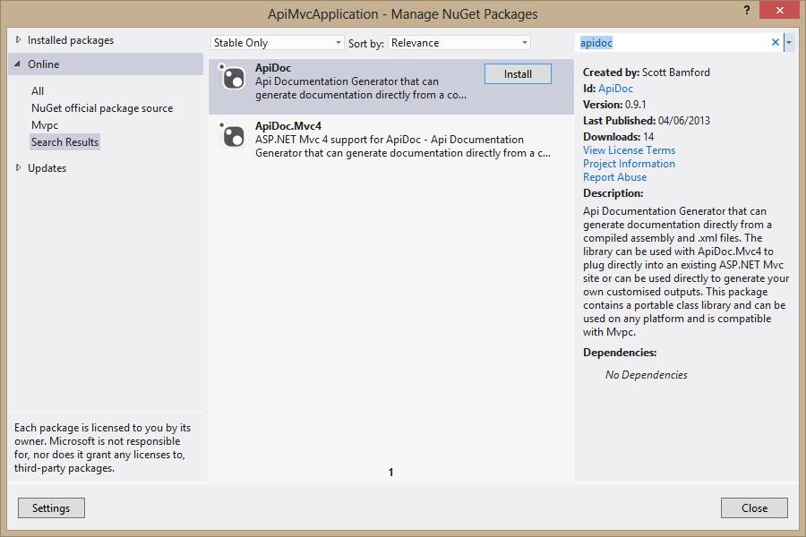 Flexible API Documentation with ApiDoc (http://apidoc